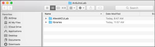 Lab 3: Afero + Arduino Temperature Sensor | Afero